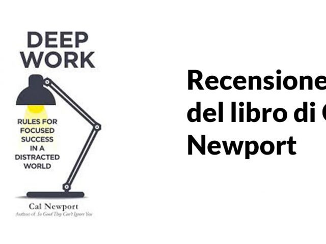Immagine del libro Deep Work